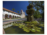 Santa Barbara Mission Posters by Michael Polk