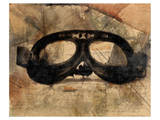 Vintage Motorcycle Glasses Posters by Irena Orlov