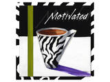 Zebra Mug Prints by Cathy Hartgraves