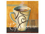 Cappuccino Prints by Cathy Hartgraves