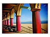 Boardwalk Stroll Art by Doug Nelson