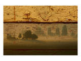 Landscape on Wood I Prints by Irena Orlov
