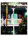 Conch Cottage 1 Prints by Kurt Novak