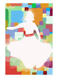 White Dress Poster by  Yashna