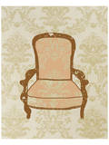 Antique Chair I Prints by Irena Orlov