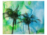 Palm Trees Print by Irena Orlov