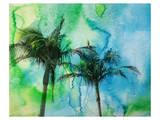 Palm Trees Print by Irena Orlov