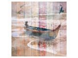 Fishing Boat in the Fog Prints by Irena Orlov