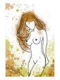 Beauty Nude Posters by Irena Orlov