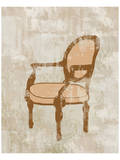 Arm French Chair Posters by Irena Orlov
