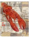 Red Lobster I Poster af Irena Orlov