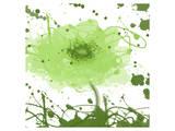 Green Dream Print by Irena Orlov