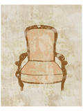 Antique Chair II Prints by Irena Orlov