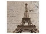 Paris III Affiche par Irena Orlov