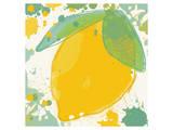 Lemon Poster by Irena Orlov