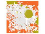 Green Orange Garden I Plakat af Irena Orlov