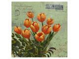 tulips 1 Posters by Kurt Novak