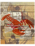 Red Lobster III Print by Irena Orlov