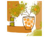 Orange Mood II Prints by Irena Orlov