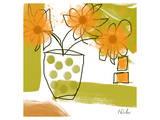 Orange Mood I Print by Irena Orlov