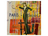 Paris-Fashion II Print by Irena Orlov