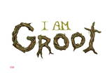 Guardians of the Galaxy - Groot: I Am Groot Prints