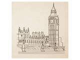 Big Ben, London Posters by Irena Orlov
