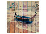 Boat Prints by Irena Orlov