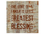 The Love of a Family Poster by Irena Orlov