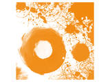 Orange I Prints by Irena Orlov