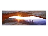 Mesa Arch Sunburst Poster by Steve Munch