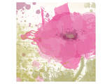 Modern Pink Poster by Irena Orlov