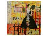 Paris-Fashion I Affiches par Irena Orlov