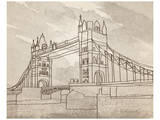 Tower Bridge, London Poster by Irena Orlov