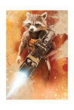 Guardians of the Galaxy - Rocket Raccoon Kunstdrucke