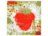 Strawberry II Art by Irena Orlov