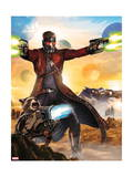 Guardians of the Galaxy - Star-Lord, Rocket Racoon, Drax, Gamora, Groot Posters