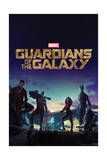 Guardians of the Galaxy: Rocket Raccoon, Groot, Star-Lord, Drax, Gamora Prints