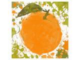 Orange II Art by Irena Orlov