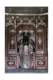 A Relief in the Lingyin Temple of Chan Buddhism Photographic Print by Franklin Price Knott