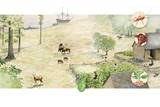 A Depiction of Jamestown after Settlement Giclee Print by Wood Ronsaville Harlin Inc