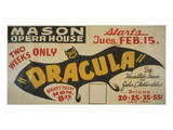 Dracula at the Mason Opera House Art