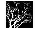 White Tree Print by Irena Orlov