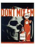 Whiskey Bottle Posters