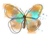 Butterfly II Print by Irena Orlov