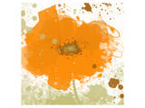 Modern Orange Art by Irena Orlov