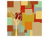 Yellow Tree II Prints by  Yashna