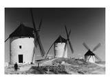 Windmills in Consuegra, Spain Prints