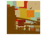 Brooklyn Bridge Prints by  Yashna