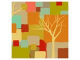 Yellow Tree III Prints by  Yashna